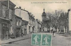 Saint Romain La Motte Place De L'Eglise - Saint-Romain-la-Motte