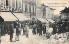 Beaumont De Lomagne Rue Despeyrous Jour De Marche - Beaumont-de-Lomagne