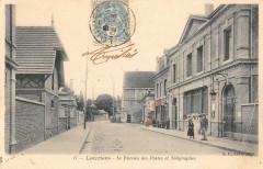Louviers Le Bureau Des Postes Et Telegraphes - Louviers