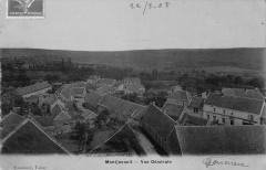 Montjavoult Vue Generale (cpa émaillée - Montjavoult