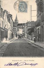 Bougival Rue De Versailles (dos non divisé) - Bougival