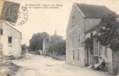 Richebourg Entree Du Village Route De Langres A Bar Sur Aube - Richebourg