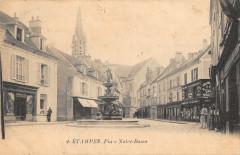 Etampes Place Notre Dame - Étampes