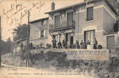 Grigny Cafe De La Gare Wagner Proprietaire - Grigny