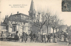 Bessenay La Place De L'Eglise - Bessenay