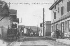 Vaugneray L'Arret Du Vieux Couvent - Vaugneray