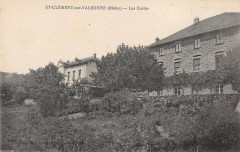 Saint Clement Sur Valsonne Les Ecoles - Valsonne