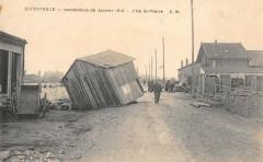 Alfortville Inondations 1910 Ile St Pierre - Alfortville