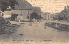 Sancey Le Grand Place Et Mairie (cpa pas courante - Sancey