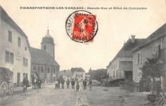 Pierrefontaine Les Varrans Grande Rue Hotel Du Commerce (pas courante - Fontain