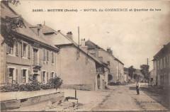 Mouthe Hotel Du Commerce Et Quartier Du Bas - Mouthe