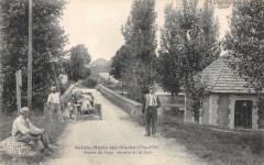 Sainte Marie Sur Ouche Entree Du Pays Chemin De La Gare Voiture - Sainte-Marie-sur-Ouche