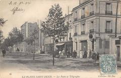La Plaine Saint Denis Les Postes Et Telegraphes - Saint-Denis
