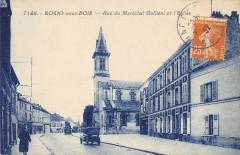 Rosny Sous Bois Rue Du Marechal Gallieni Et Eglise 93 Rosny-sous-Bois