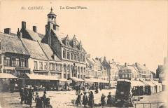 Cassel La Grand Place (marché - Cassel