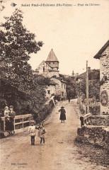 Saint Paul D'Eyjeaux Pont De Chevres - Eyjeaux