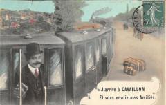 J'Arrive A Cavaillon Train - Cavaillon