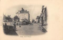 Guer Rue Saint Thomas (dos non divisé) - Guer