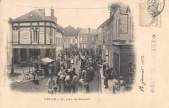 Voulx Jour De Marche (dos non divisé) - Voulx