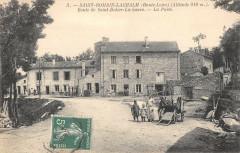 Saint Romain Lachalm Route DeSaint-Didier La Sauve La Poste - Saint-Romain-Lachalm