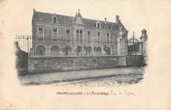 Chatelaillon Le Pensionnat Rue De Cognac (cliché pas courant - Courant