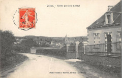 Ceton Entree Par La Route D'Aveze - Ceton