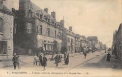 Pontorson Ancien Hotel De Montgomery - Pontorson