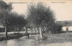 Nielles Les Blequin Passerelle Sur Le Blequin - Bléquin