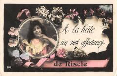 A La Hate Un Mot Affectueux De Riscle - Riscle
