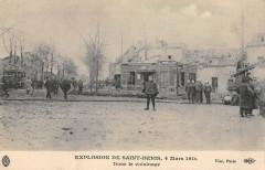 Explosion De Saint Denis Dans Le Voisinage - Saint-Denis