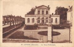 Langon La Sous Prefecture - Langon