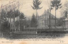 Hesdin Le Pont Du Chemin De Fer Villa Des Tourelles - Hesdin