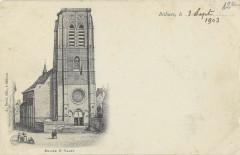 Bethune Eglise St Vaast (dos non divisé) - Béthune