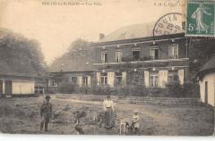 Nielles Les Blequin Une Villa (cpa pas courante - Bléquin
