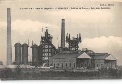 Env.gare Berguette Isbergues Acieries De France Hauts Fourneaux - Isbergues
