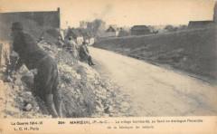 Maroeuil Le Village Bombarde - Maroeuil
