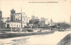 Les Usines Au Pont De Courrieres - Courrières