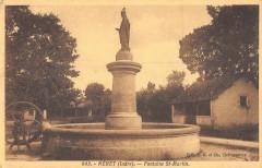Neret Fontaine Saint Martin - Néret