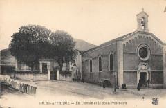 Saint Affrique Le Temple Et La Sous Prefecture - Saint-Affrique