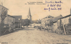Benamenil Place De L'Eglise - Bénaménil
