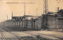 Castelsarrasin Usine Les Ateliers (cpa pas courante - Castelsarrasin