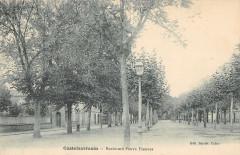Castelsarrasin Boulevard Pierre Flamens (cpa pas courante - Castelsarrasin