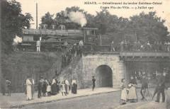 Meaux Deraillement Du Tender Extreme Orient Cours Fin De Ville 1907 - Meaux