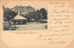 Petit Croix Gare Place De La Mairie Commune De Montreux Chateau - Croix