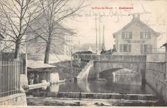 Audincourt Le Pont De Gland (dos non divisé) - Audincourt