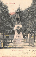 Montbeliard La Statue De Denfert - Montbéliard