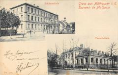 Gruss Aus Mulhausen Mulhouse (dos non divisé) - Mulhouse