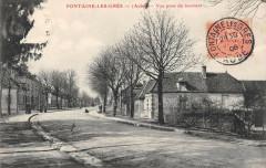 Fontaine Les Gres Vue Prise Du Tournant - Fontaine