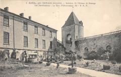 Arbis Pres Cadillac Interieur Du Chateau De Benage - Cadillac