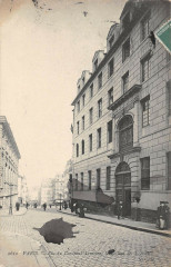 Paris Ve arrt Rue Du Cardinal Lemoine College Des Ecossais - Paris 5e